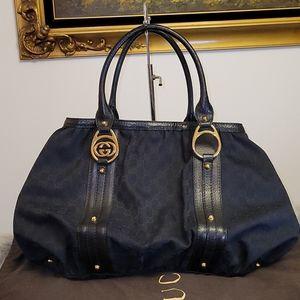 GUCCI Canvas black Bag